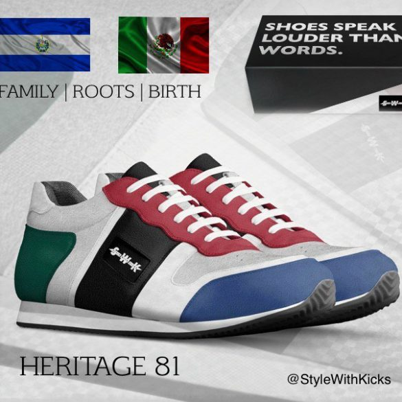 Style With Kicks Heritage 81 Sneaker